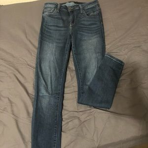 Cello Size 9 Dark Denim Skinny Jeans